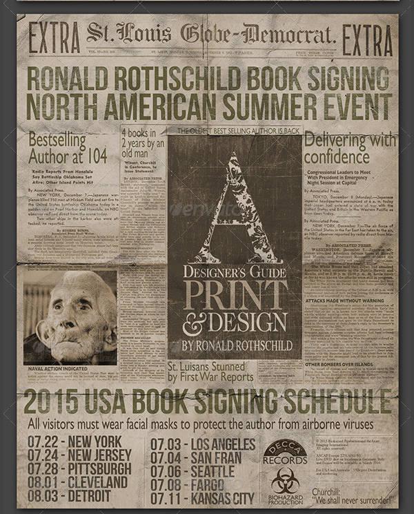 Newspaper Design Templates Design Trends Premium Psd Vector