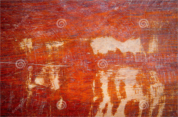 old scratched wood texture