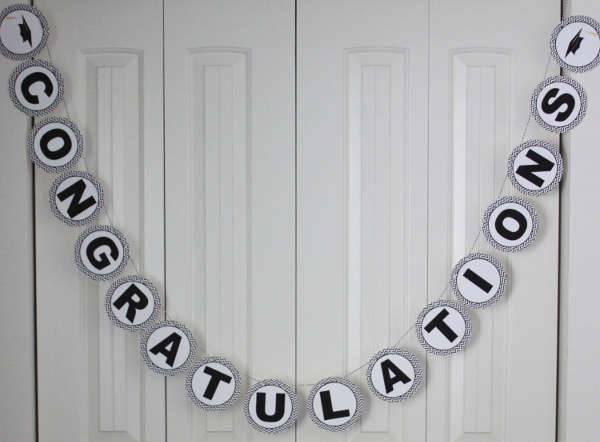 Personalized Graduation Congratulations Banner
