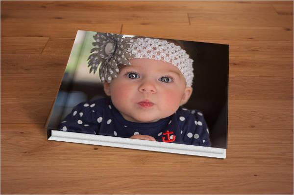 photo album cover psd