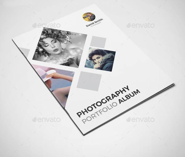 Photography Album Portfolio Template