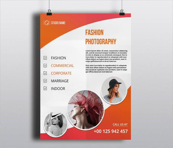 Photography Flyer PSD