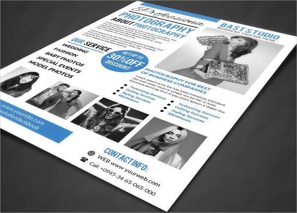 Photography Studio Business Flyer
