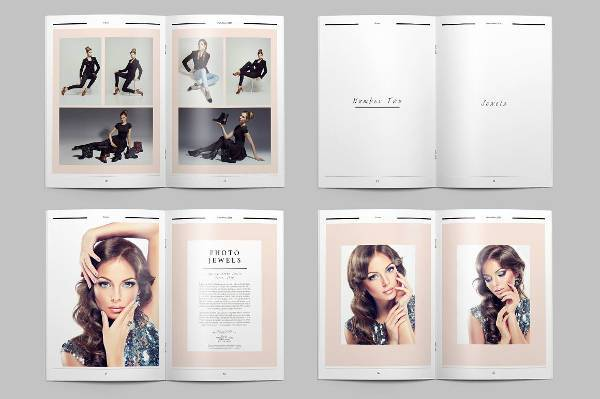 Portfolio Photo Album Design
