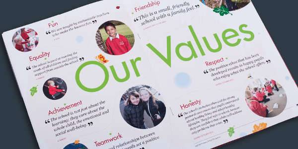 33  school brochure designs - psd  ai