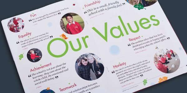 Primary School Brochure Design