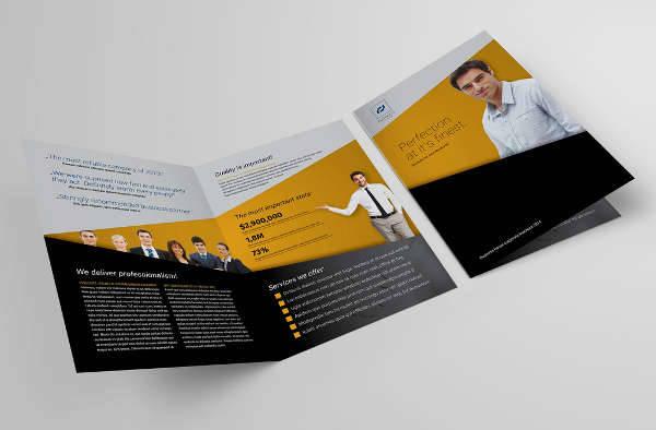 Printable Bifold Brochure