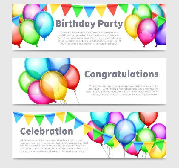printable birthday party banner