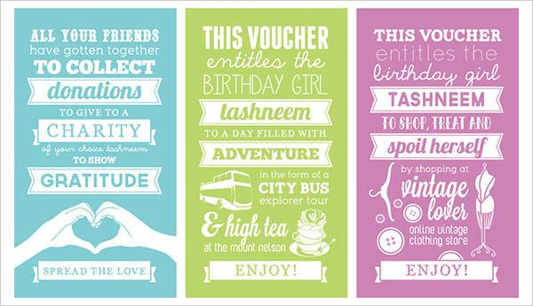 Printable Birthday Voucher