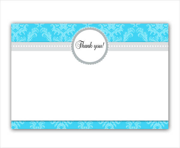 Thank You Card Design Design Trends Premium Psd
