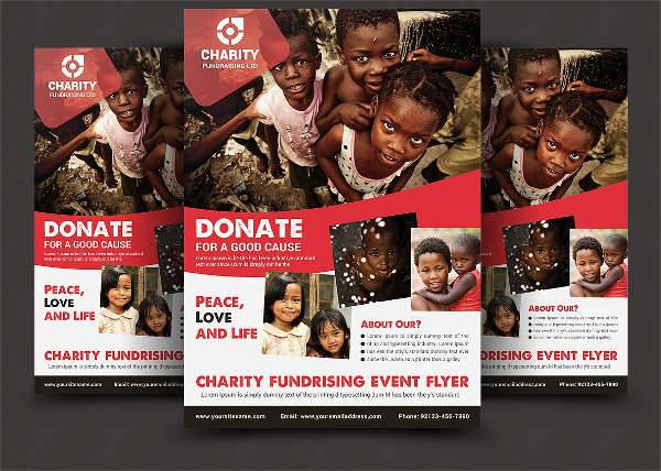 19  donation flyer designs