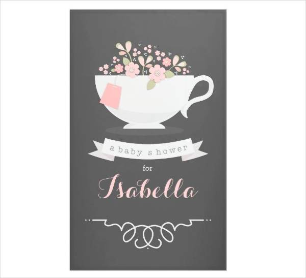 Printable Tea Party Banner
