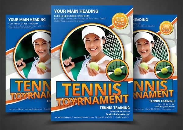 printable tennis flyer