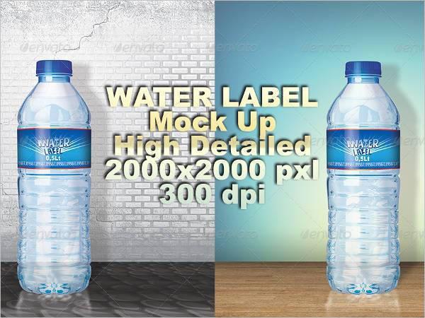 printable water bottle label1