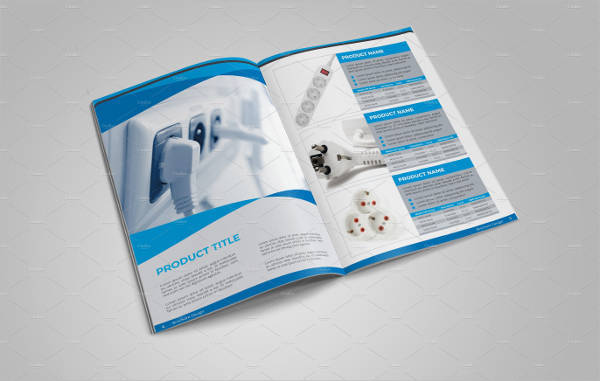 Product Catalog Brochure