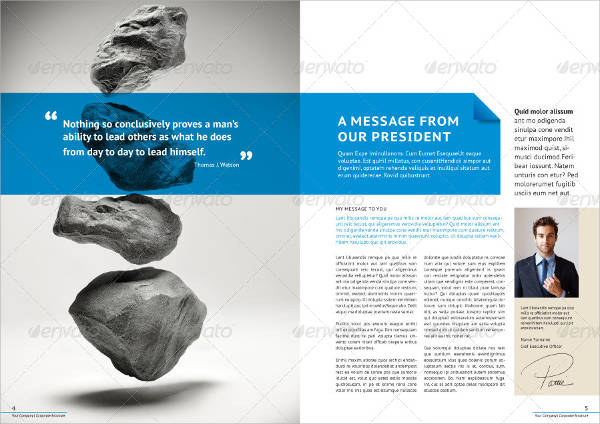 professional corporate business brochure