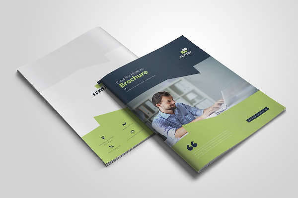 Professional Marketing Brochure Template