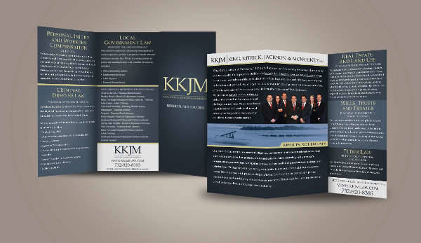 Professional Marketing Trifold Brochure
