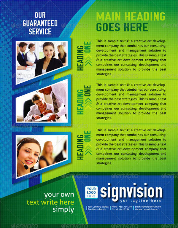 Professional Modern Business Flyer