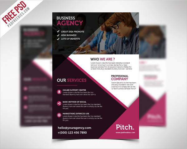Professional and Clean Business Flyer