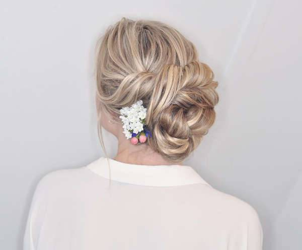 Prom Messy Updo Hairstyle