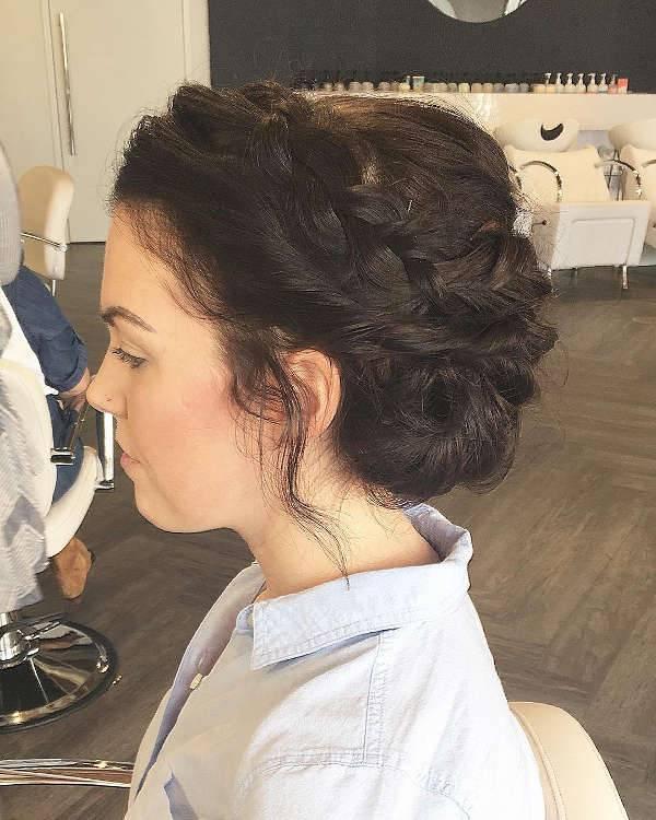 prom updo for black hair