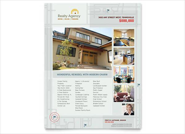 Real Estate Agent Flyer