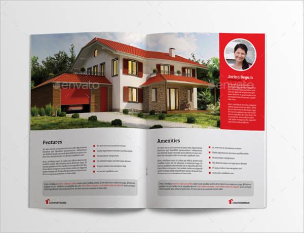 Real Estate Busines Bifold Brochure