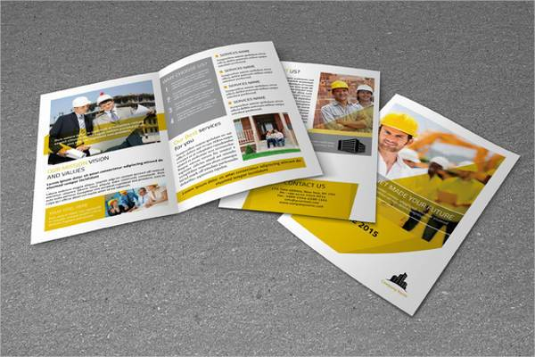 Real Estate Business Bifold Brochure