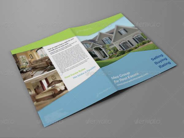 Real Estate Company Bifold Brochure