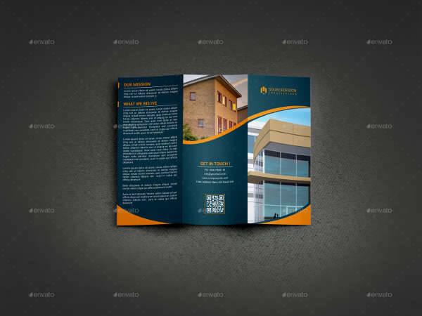 Real Estate Company Trifold Brochure