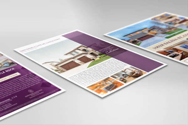Real Estate Marketing Brochure Design