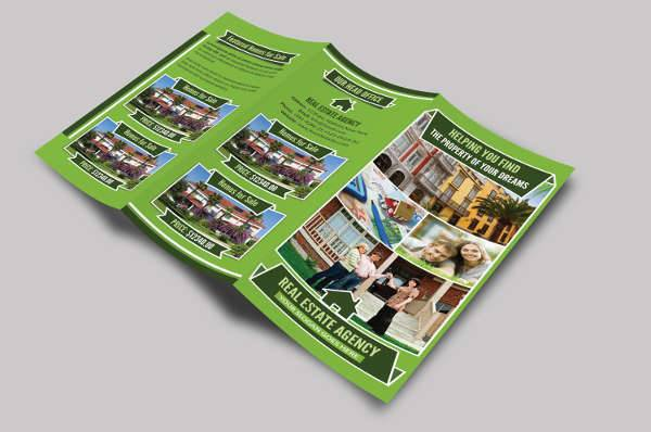 Real Estate Marketing Trifold Brochure
