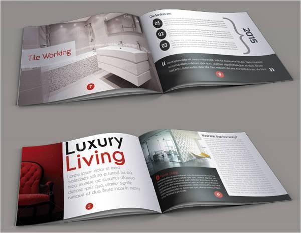 Real Estate Minimal Square Brochure