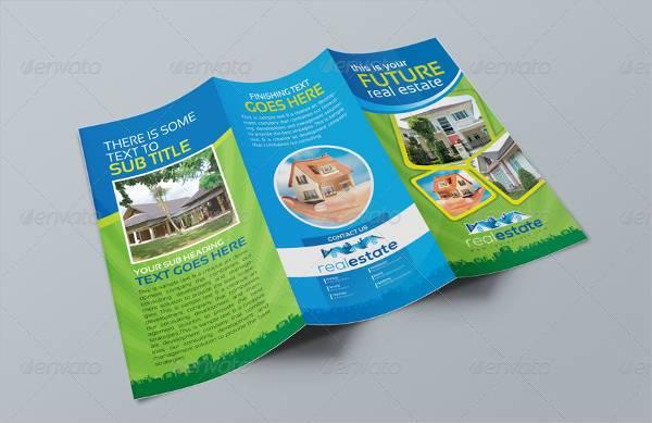 Real Estate Tri-Fold Corporate Business Brochure
