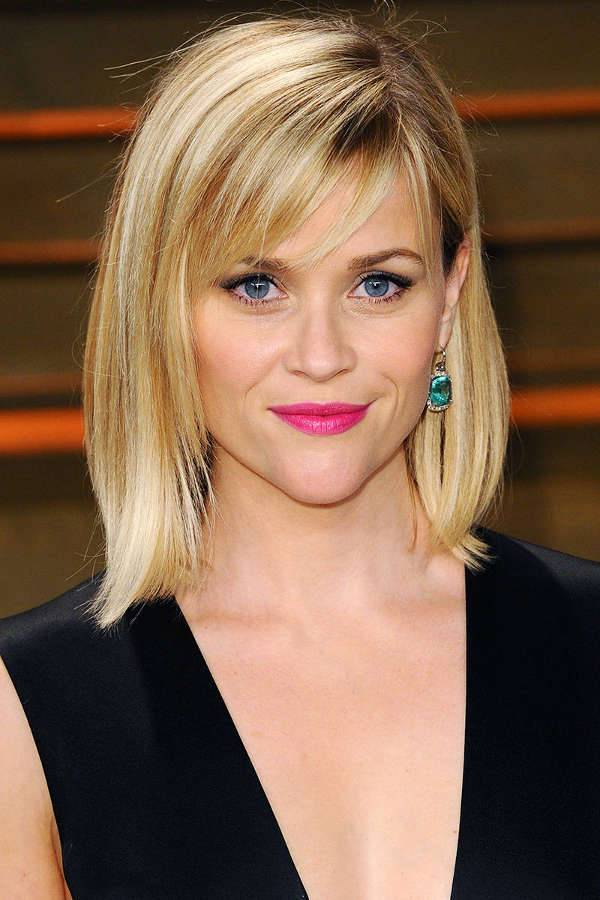 Reese Witherspoon Long Inverted Bob