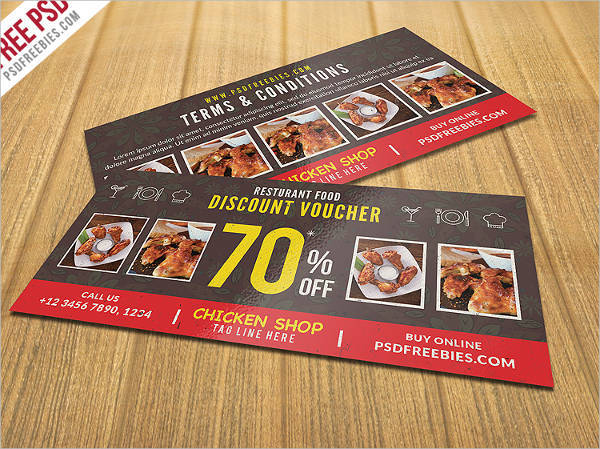 Restaurant Discount Voucher