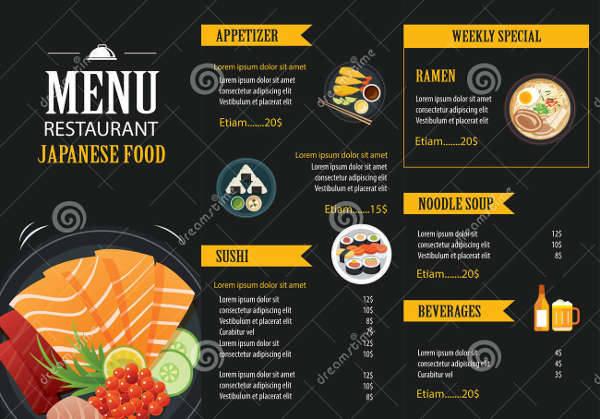 Restaurant Food Brochure