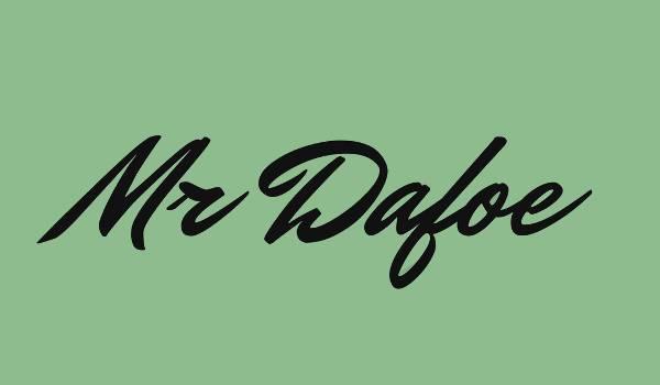 Retro Typography Cursive Font