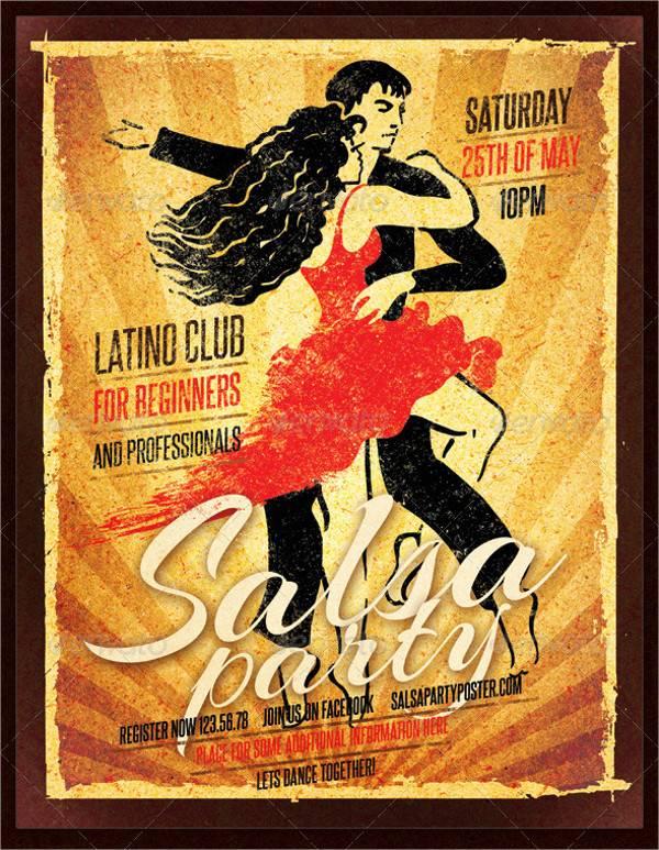 Retro Vintage Party Poster