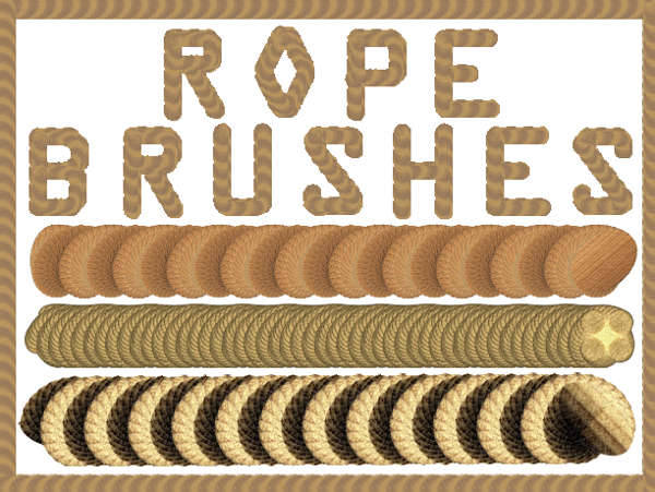 Rope Pattern PS Brushes