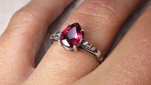 10+ Ruby Engagement Ring Designs, Ideas | Design Trends - Premium ...