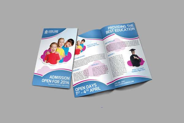 School Promotion Bifold Brochure