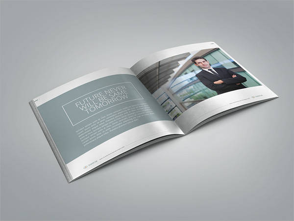 Sharp and Clean Business Brochure
