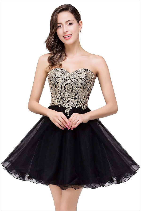 Short Black Prom Dress