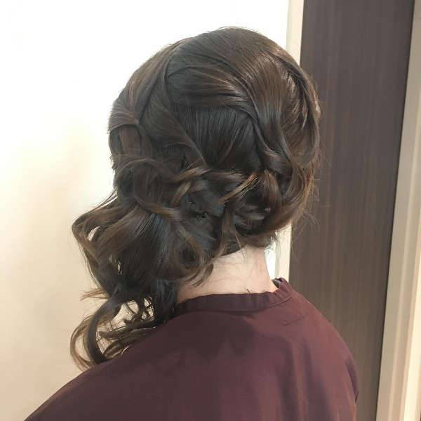 short prom updo hairstyle
