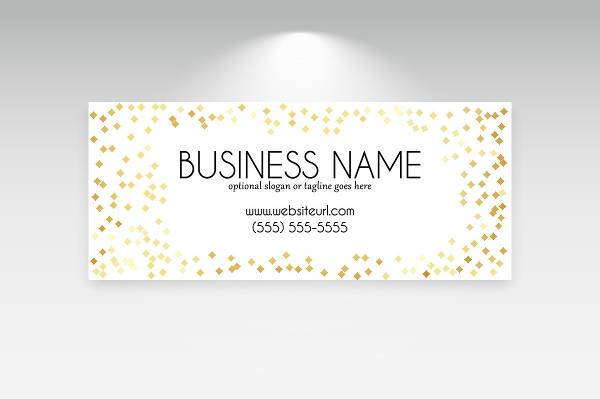 simple business banner
