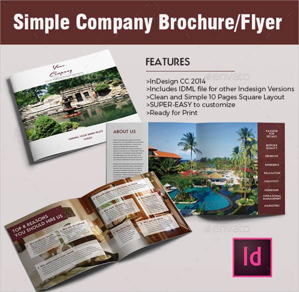 Simple Modern Company Brochure