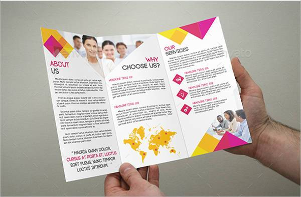 Simple & Modern Tri-Fold Brochure