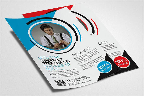 Small Business Consulting Flyer